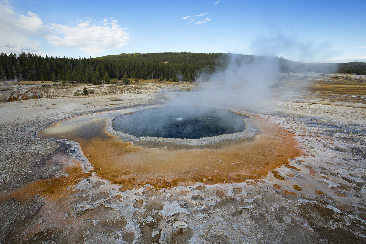 Crested Pool, Upper Geyser Basin, N.P. Yellowstone